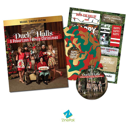 Duck The Halls: A Robertson Family Christmas 'ZinePak