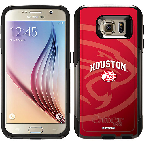 University of Houston Cougars Red Design on OtterBox Commuter Series Case for Samsung Galaxy S6