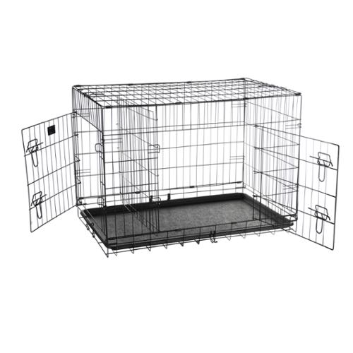 "Pet Trex 36"" Folding Pet Crate Kennel Wire Cage for Dogs, Cats or Rabbits"
