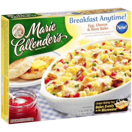 Marie Callender's Breakfast Anytime! Egg Cheese & Ham Bake, 24 oz
