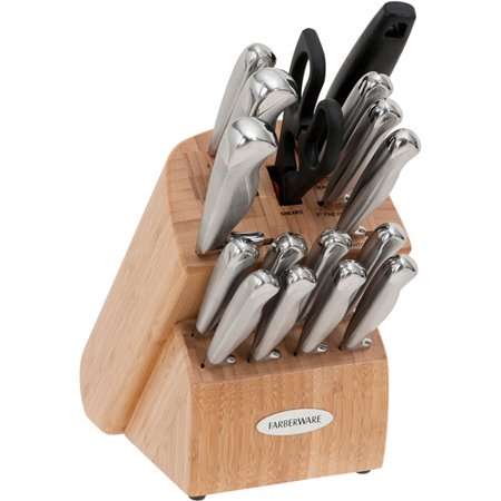 Farberware 17 Piece Cutlery Set Walmart Com