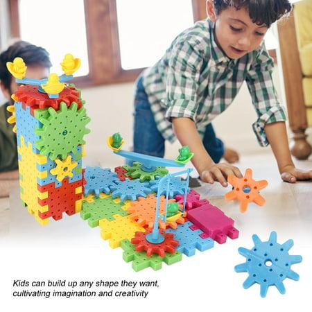 Qiilu 81Pcs/Set Educational Electric Puzzle Kids Children Plastic DIY Building Blocks Funny Toys, Kids Puzzle Toy, Educational Puzzle Toy - image 3 of 13