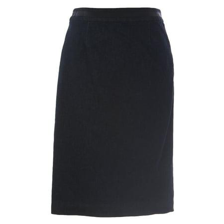 boden women 39 s denim modern pencil skirt dark indigo. Black Bedroom Furniture Sets. Home Design Ideas