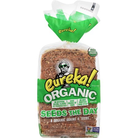 Eureka! Organic Seeds The Day 8 Grains & Seeds Bread