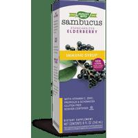 Sambucus Standardized Elderberry Immune Syrup, with Echinacea Zinc & Vitamin C, 8 Oz