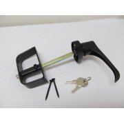 L Door Handle Black 5-1/2