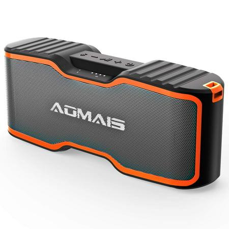 AOMAIS Sport II+ Bluetooth Speakers, Portable Wireless Speaker Louder Sound, IPX7 Waterproof, 20 Hours Playtime, 99 ft Bluetooth Range & Built-in Mic, Sport II Upgraded Version Pool Party, Beach