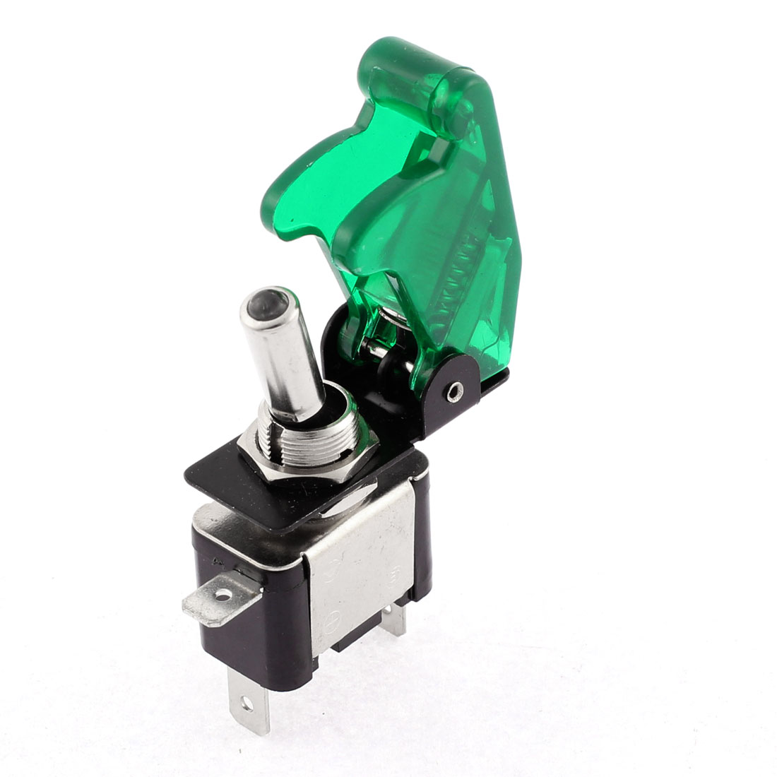 Green Lighted Toggle Switch 12V 20A ON OFF Car Truck Coat ATV Airplane
