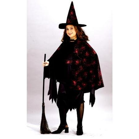 Witch Glitter Chip Child - Chimp Costumes