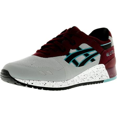 best service 6c60f 96ca1 Asics - Asics Men s Gel-Lyte Iii Ns Light Grey   Black Ankle-High Fashion  Sneaker - 9.5M - Walmart.com