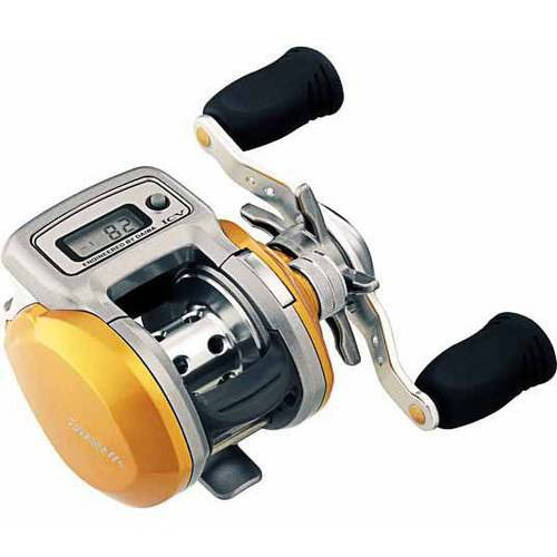 Daiwa Accu-depth ICV Low Profile Reel, Left Handed