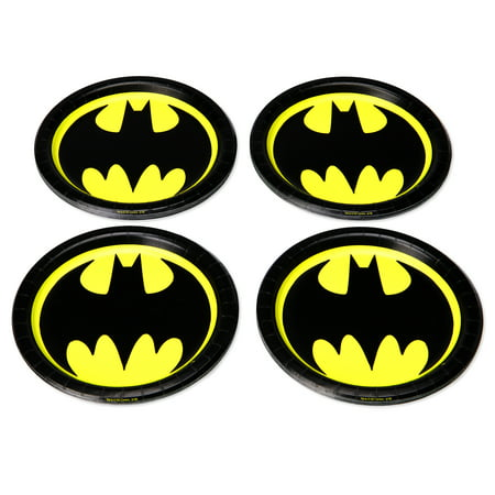 American Greetings Batman Paper Dessert Plates, 36-Count - Batman Party Plates