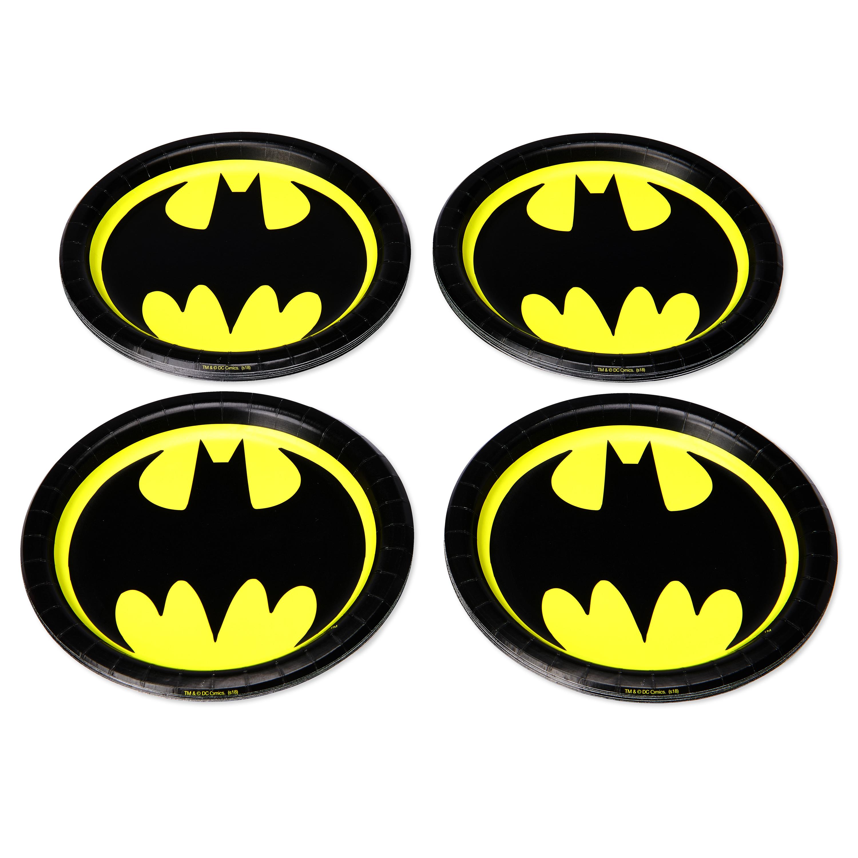 American Greetings Batman Paper Dessert Plates, 36-Count