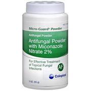 Micro-Guard Powder Antifungal Powder with Miconazole Nitrate 2%, 3 Oz.