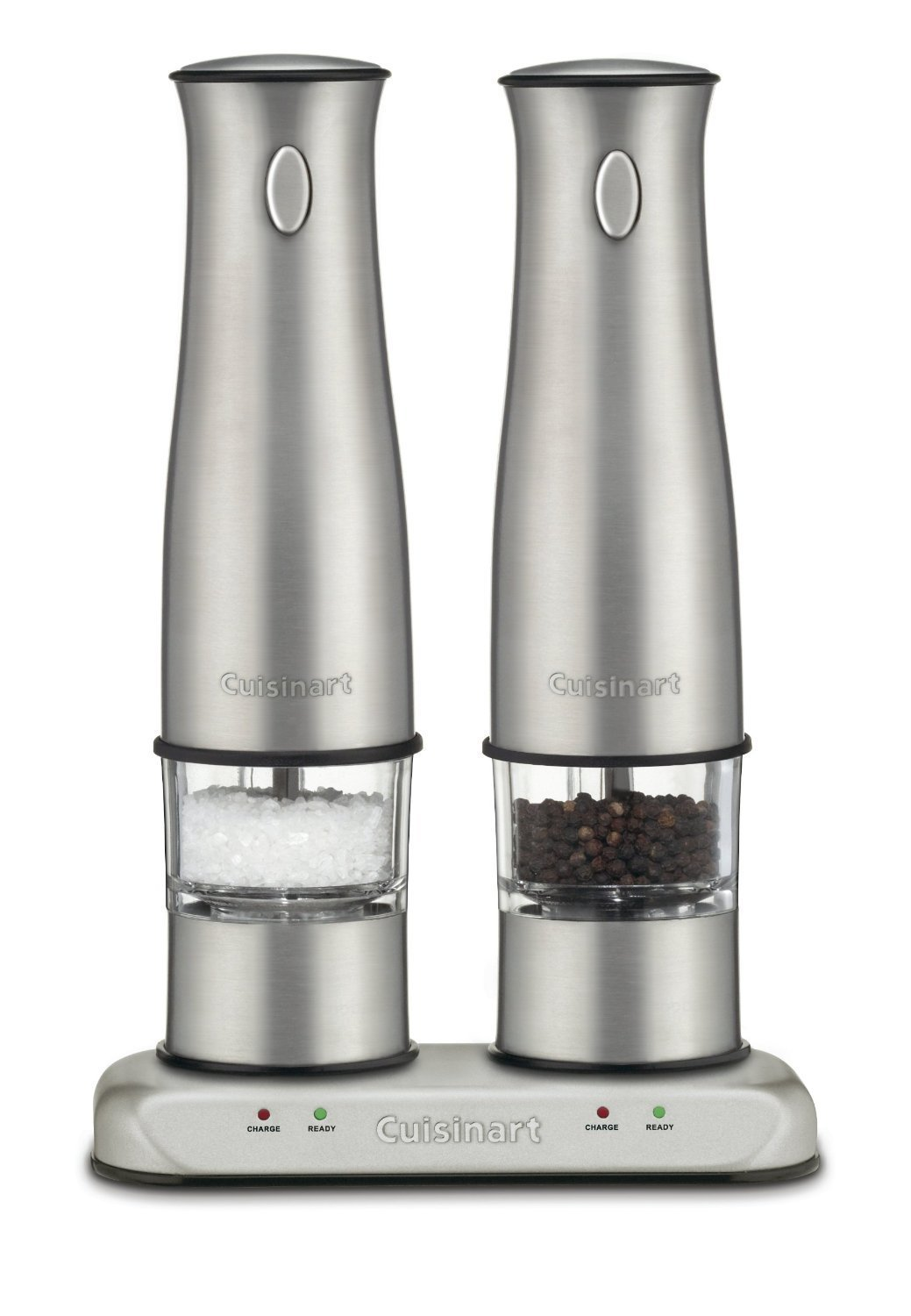 Cuisinart SP-2 Stainless Rechargeable Salt & Pepper Mills, Certified Refurbished by Cuisinart