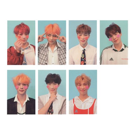 Girl Photo Postcard - Fancyleo Kpop BTS Bangtan Boys Love Yourself  Photo Postcard Lomo Cards Set Gift for ARMY, 28 Pcs/Set (F)