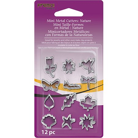 Sculpey Mini Metal Cutters: Other, 12 pieces