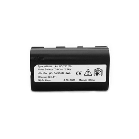 GEB211 Li Ion Battery for Leica RX1200 field controller and ATX1230 GNSS (Polymer Li Ion Module)