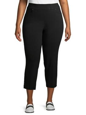 Terra And Sky Women's Plus Millennium Skinny Ankle Pants