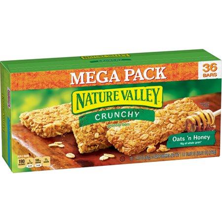 Nature Valley Oats N Honey Crunchy Granola Bars  26 82 Oz