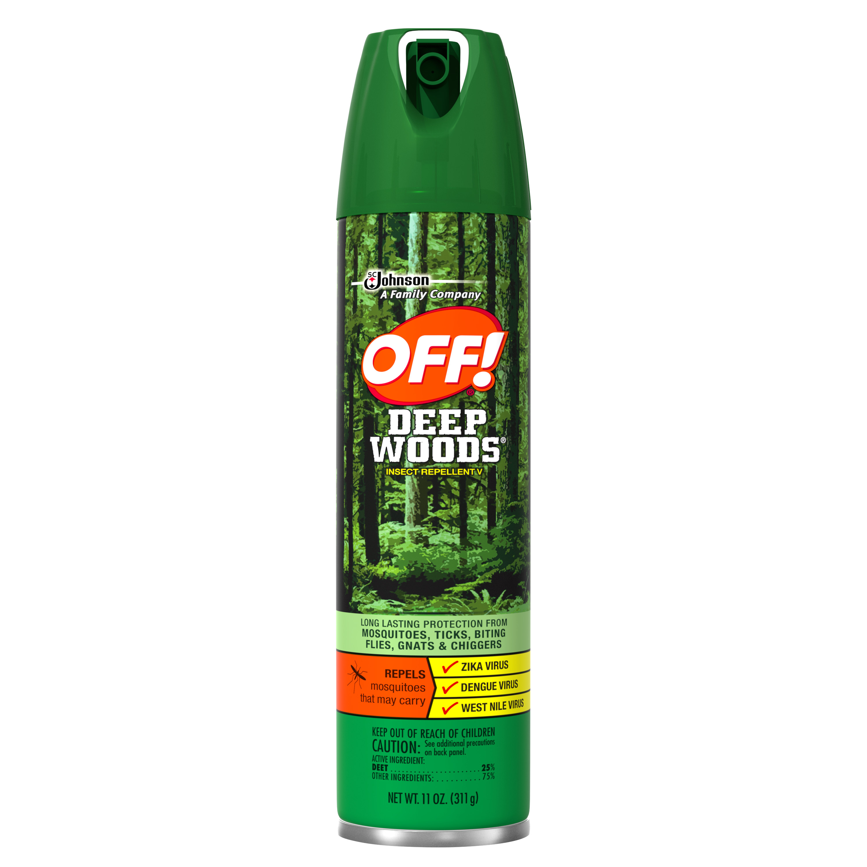 OFF! Deep Woods Insect Repellent V, 11 Ounces