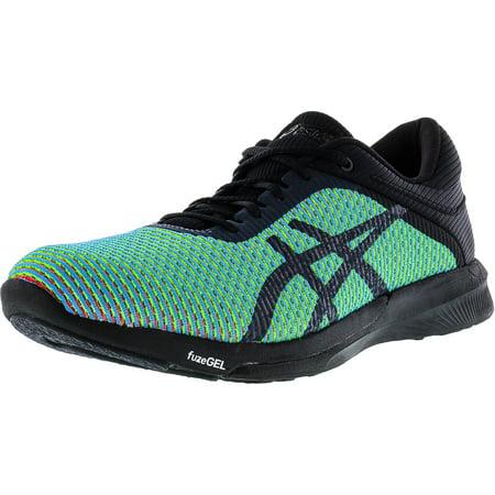 code promo a7a39 18942 Asics Women's Fuzex Rush Cm Aquarium / Phantom Ankle-High Running Shoe - 9M