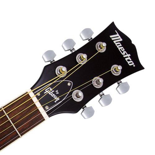 gibson acoustic guitar full size strap picks extra string set lesson dvd 41 ebay. Black Bedroom Furniture Sets. Home Design Ideas