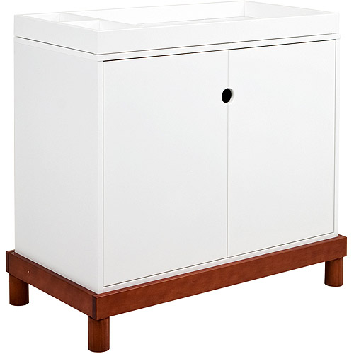 Baby Mod - Olivia 2-Door Changer, Amber and White