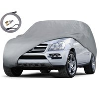 Motor Trend All Weather Waterproof Premium Van and SUV Cover - Outsoor , Water & UV Proof, Secure Lock & Bag (4 Sizes)