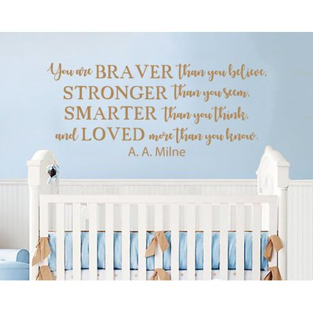 Decal House Winnie The Pooh Quote Mural Wall Decal (Winnie The Pooh Halloween Quote)