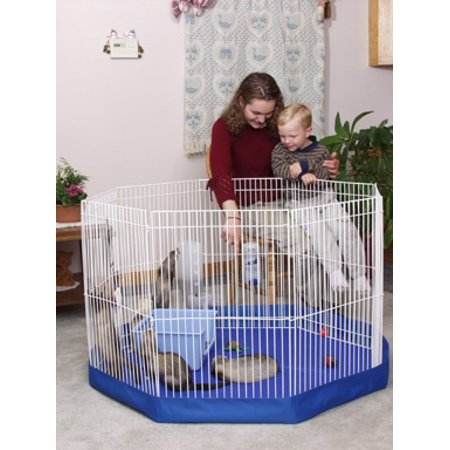 Marshall Pet Products Playpen Mat Cover 8 Panel Walmart Com