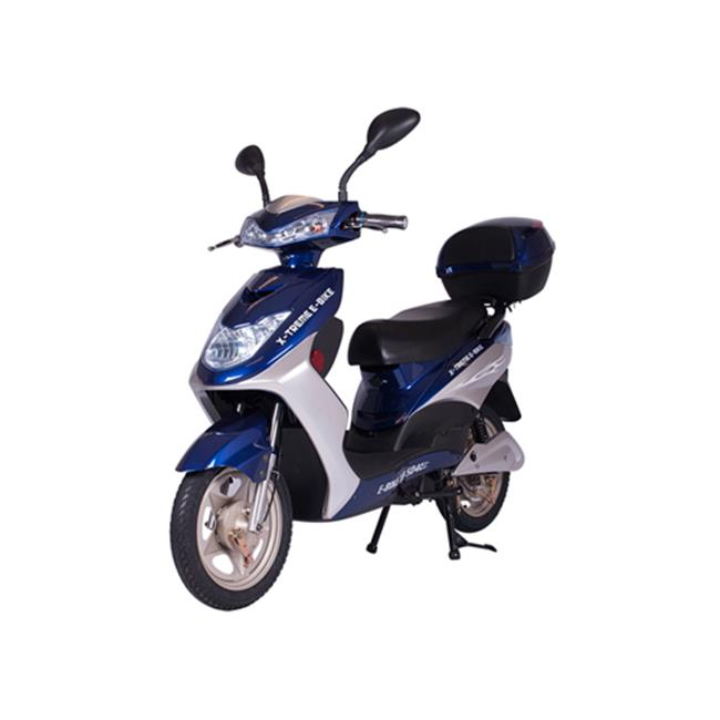 X Treme Scooters Xb 504 Electric Bicycle Blue Walmart Com