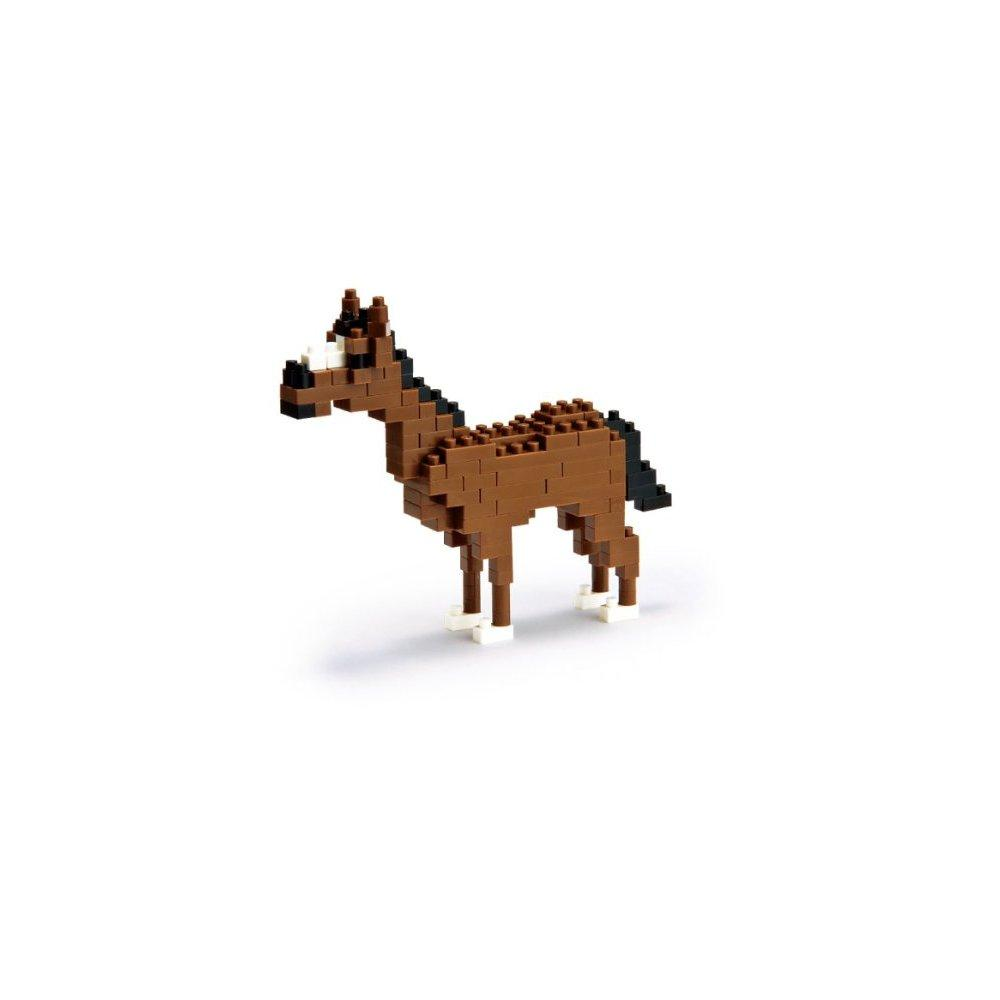 Nanoblock Horse by
