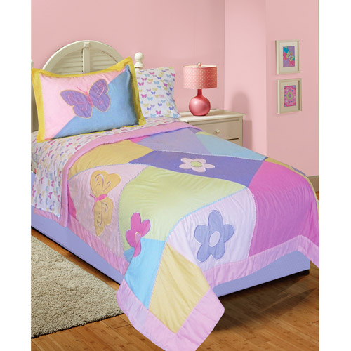 InStyle Abbey Quilt Bed in a Bag, Pastel