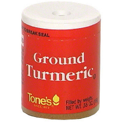 Tone's Ground Turmeric, 0.55 oz (Pack of 6)