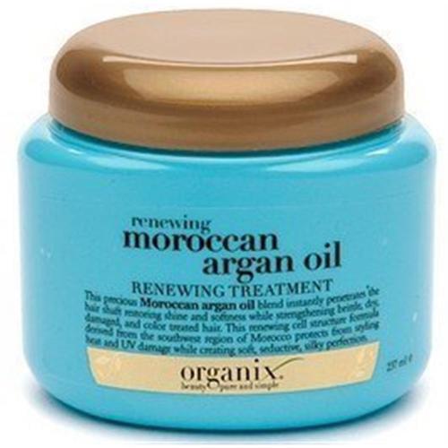 Organix Renewing Moroccan Argan Oil Intense Moisturizing Treatment 8 oz (Pack of 4)