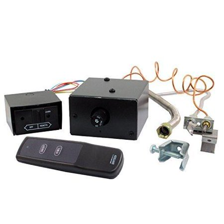 Fireplace Remote Control Skytech Manual On/Off Gas Valve Control Kit (With Remote) AF-LMF-RVS -