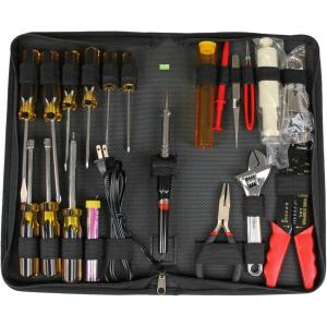 19 PIECE COMPUTER TOOL KIT IN A CARRYING CASE