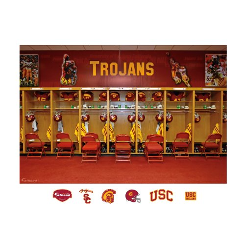 USC Locker Room mural 12-20584