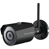 Amcrest ProHD Outdoor WiFi Wireless IP Security Bullet Camera (Black)
