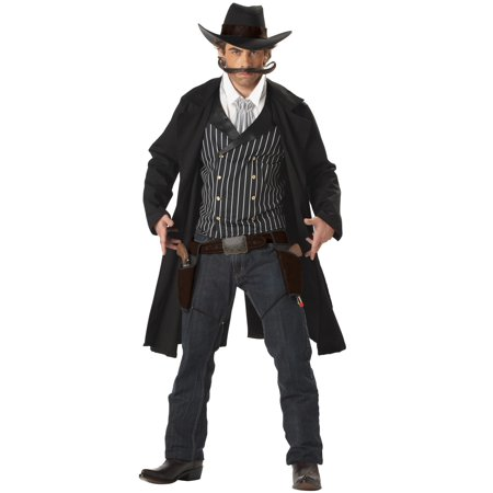 Western Cowboy Clint Eastwood Gunfighter Gun Slinger Halloween Costume Mens