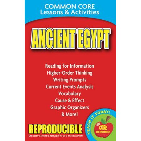 History Of Halloween Lesson Activity (Ancient Egypt Common Core Lessons & Activities : Common Core Lessons &)