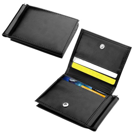 Zodaca Mens Genuine Leather Card Holder With 10 Id Credit Business Card Slots   Black  Gift Idea