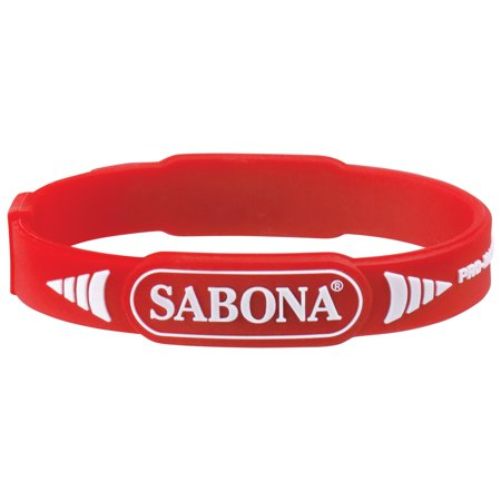 Copper Magnetic Wristband - Sabona Sport Wristband Pro Magnetic Red-S/M