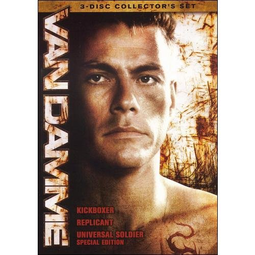 Van Damme Triple Feature: Kickboxer / Replicant /Universal Soldier (Collector's Edition) (Widescreen, Full Frame)