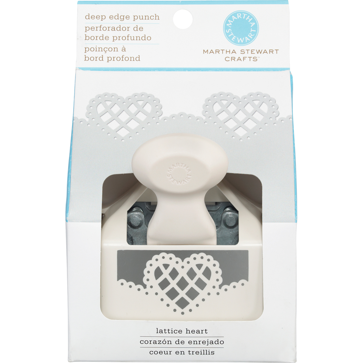 Martha Stewart Crafts Deep Edge Punch, Lattice Heart