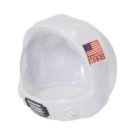 Child's Astronaut Plastic Space Helmet & Visor Costume Accessory