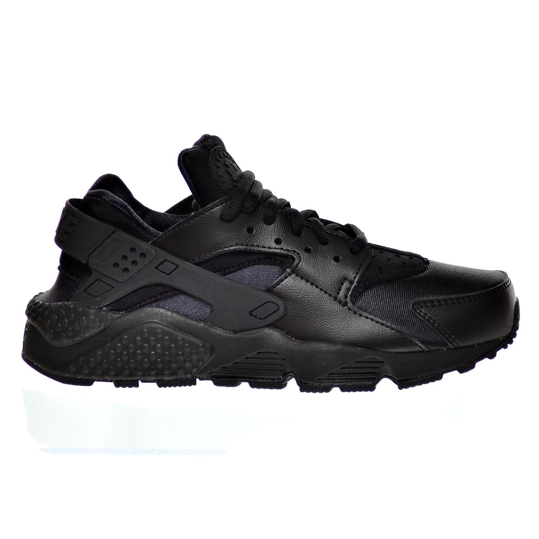 Nike Women's Air Huarache Run Black/Black Running Shoe (11 B(M) US)