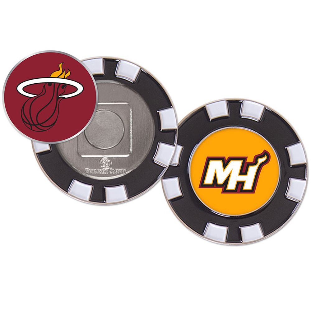 Miami Heat WinCraft Golf Poker Chip - No Size
