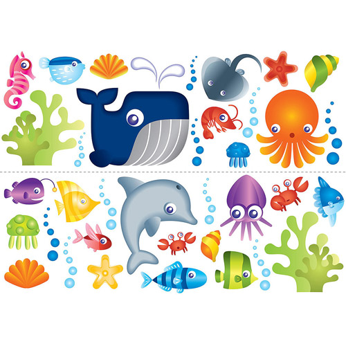 Fun4Walls Under the Sea Wall Decals